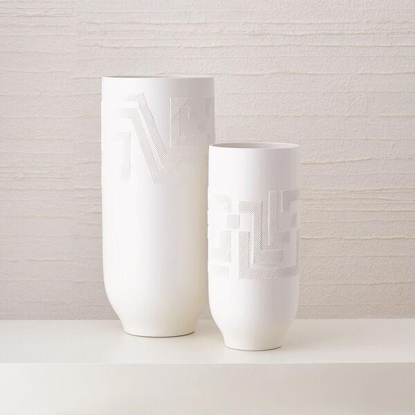 Studio A Home Matte White Small Chaco Vase, image 2
