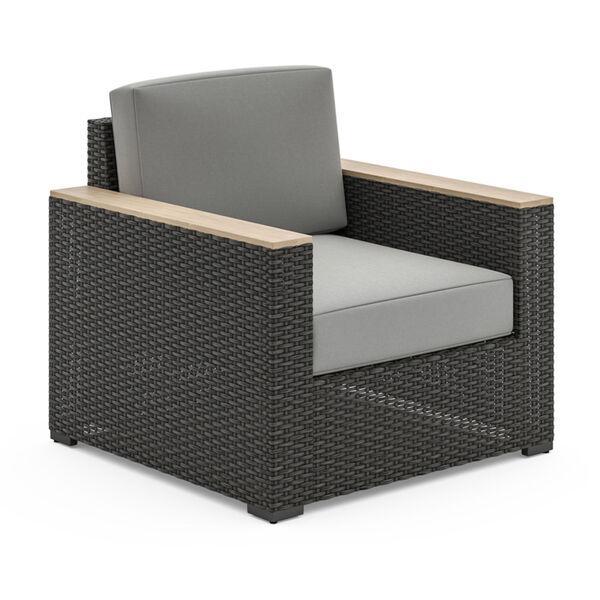 Boca Raton Brown Patio Arm Chair, image 1