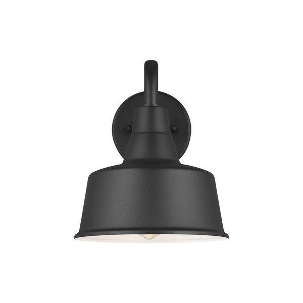 Barn Light Black Eight-Inch One-Light Outdoor Wall Lantern, image 2