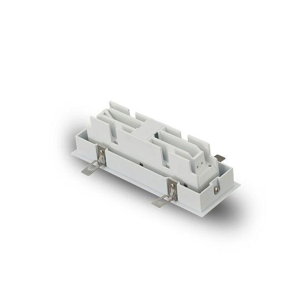 Rubik White Five-Light Adjustable LED Recessed Downlight, image 6