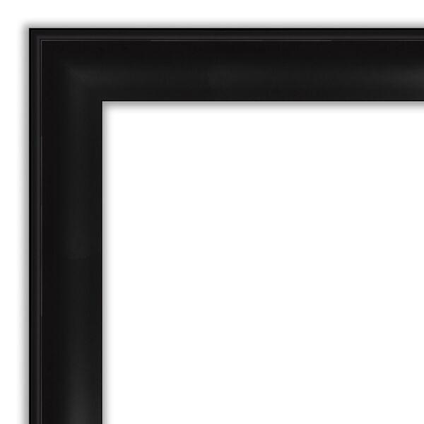 Black 22W X 26H-Inch Bathroom Vanity Wall Mirror, image 2