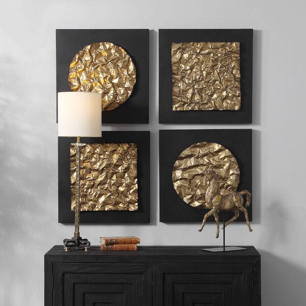 Boaz Antique Gold Wall Decor, Set of 2, image 4