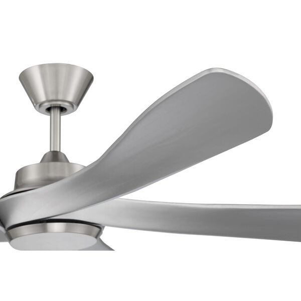 Captivate Brushed Polished Nickel 52-Inch Ceiling Fan, image 4