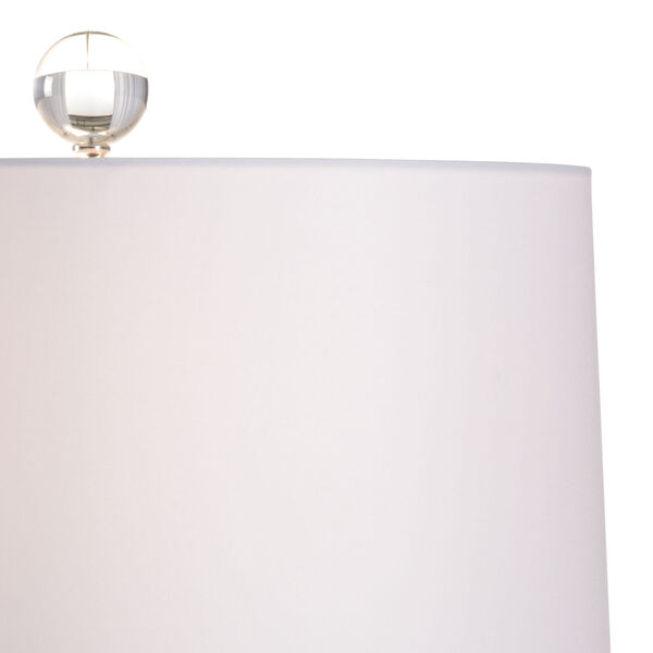Antigua Mint Green and White One-Light Table Lamp, image 3