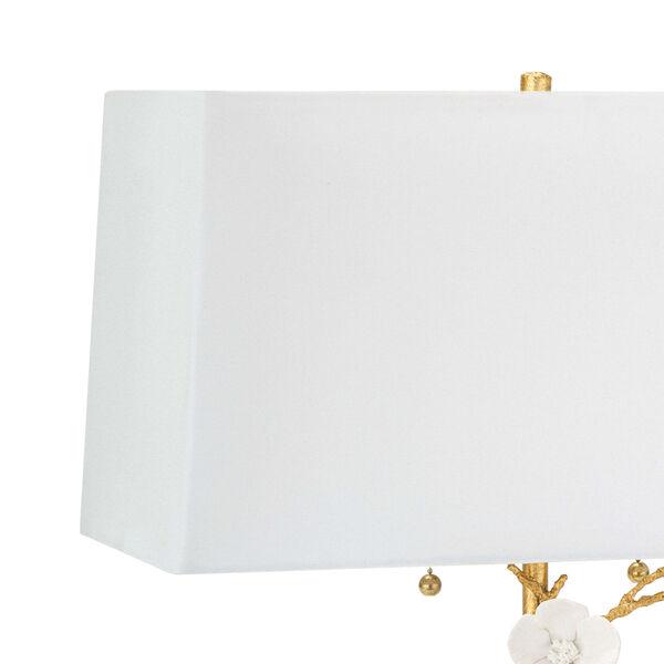 Cherise Gold Two-Light Horizontal Table Lamp, image 3