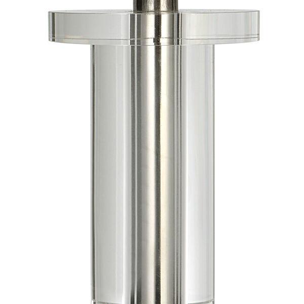 Aurelia Polished Nickel One-Light Buffet Lamp, image 3