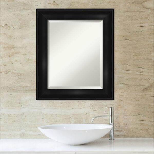Black 22W X 26H-Inch Bathroom Vanity Wall Mirror, image 5