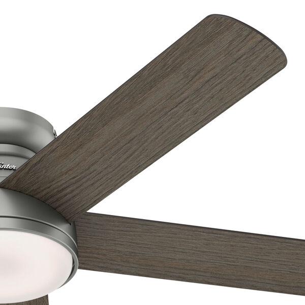 Romulus Low Profile Matte Silver 54-Inch Smart LED Ceiling Fan, image 5