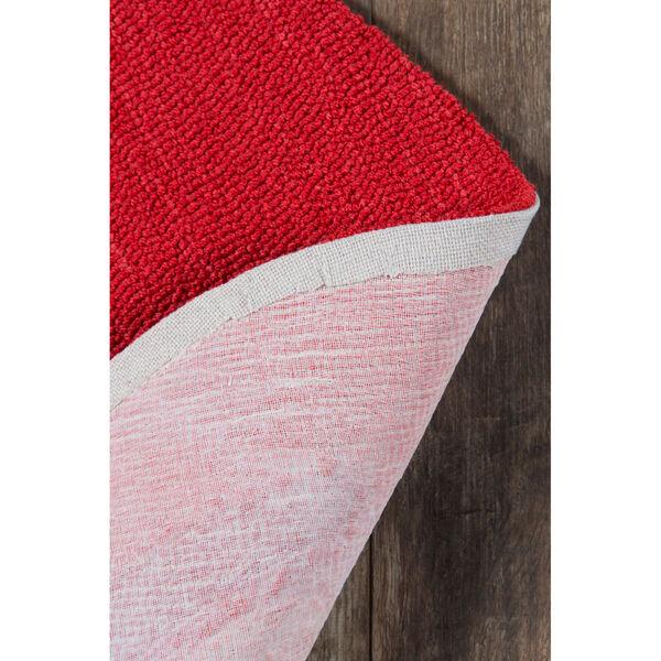 Cucina Red Rectangular: 2 Ft. 6 In. x 2 Ft. 9 In. Rug, image 4