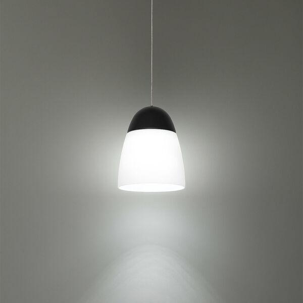 Dimple Black Seven-Inch LED Mini Pendant, image 3