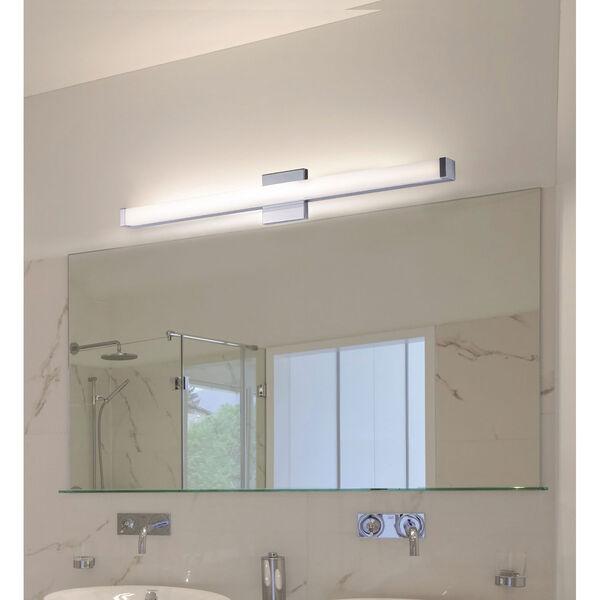 Spec Vanity Polished Chrome 36-Inch LED Bath Bar, image 2