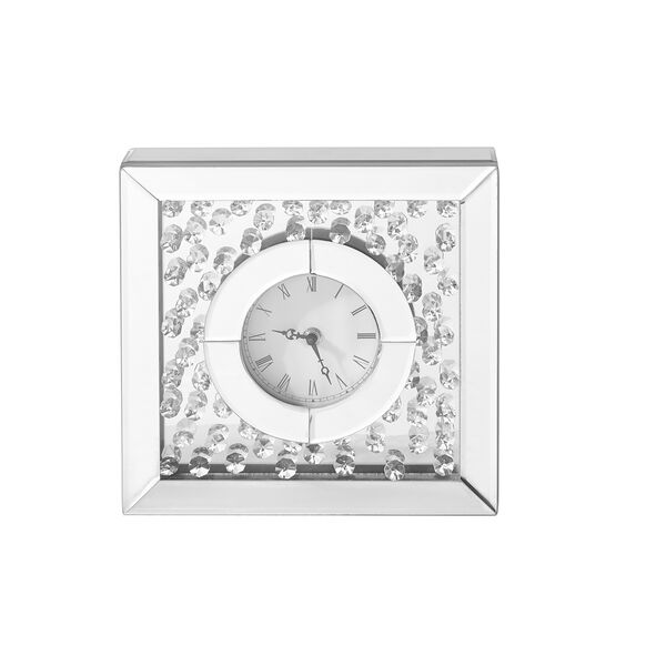 Sparkle Crystal 10-Inch Square Table clock, image 1