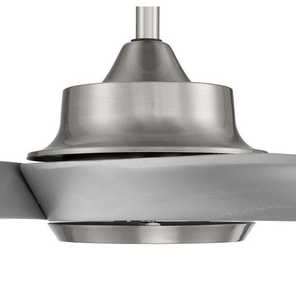Captivate Brushed Polished Nickel 52-Inch Ceiling Fan, image 6