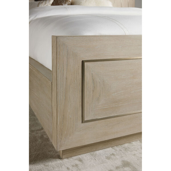 Cascade Taupe Panel Bed, image 4