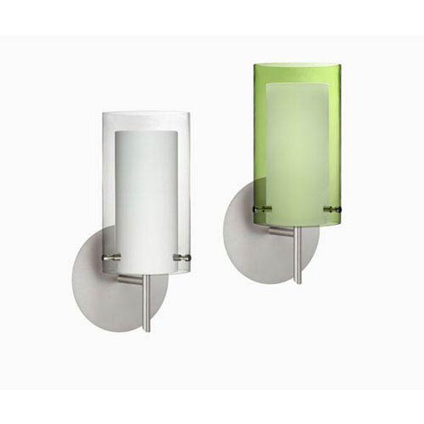 Pahu 4 Chrome One-Light LED Bath Sconce with Clear Glass, image 3
