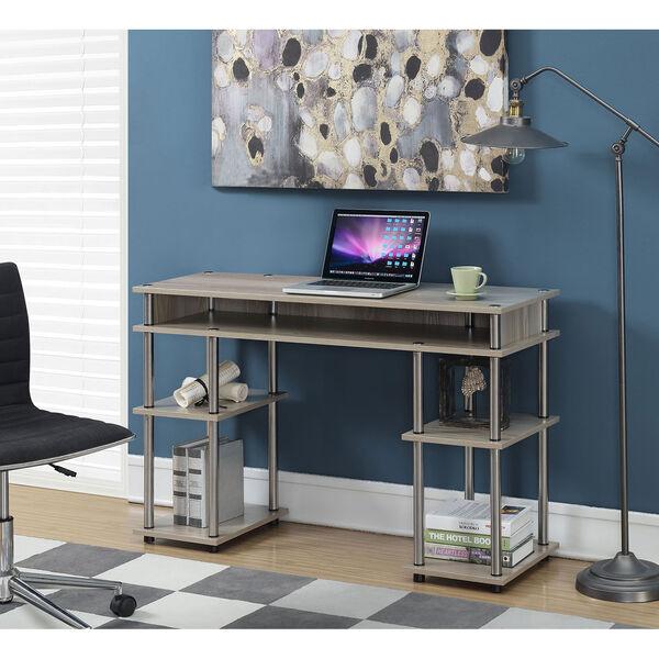 Designs2Go Soft Sand No Tools Student Desk, image 4