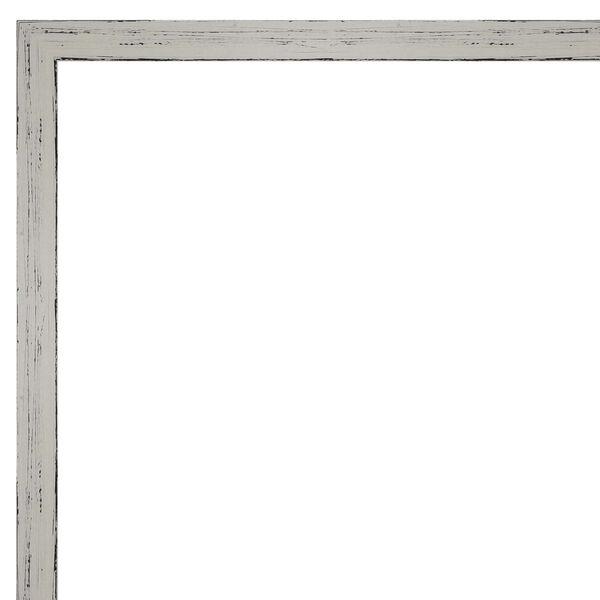 Shiplap White 19W X 25H-Inch Bathroom Vanity Wall Mirror, image 2