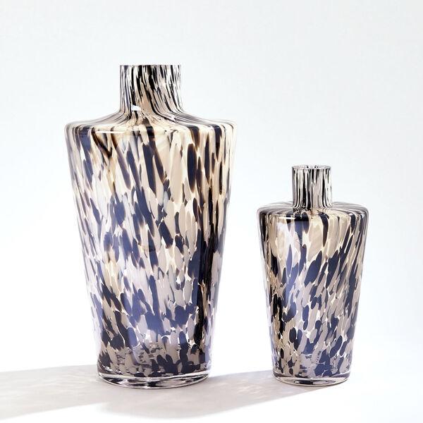 Black and Beige Confetti Shoulder Vase, image 3