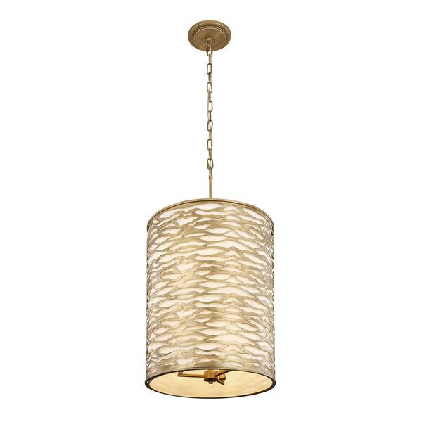 Kato Havana Gold 18-Inch Six-Light Pendant, image 2