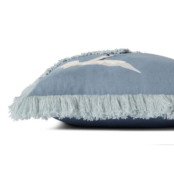 Justina Blakeney Blue 18 x 18-Inch Pillow, image 3