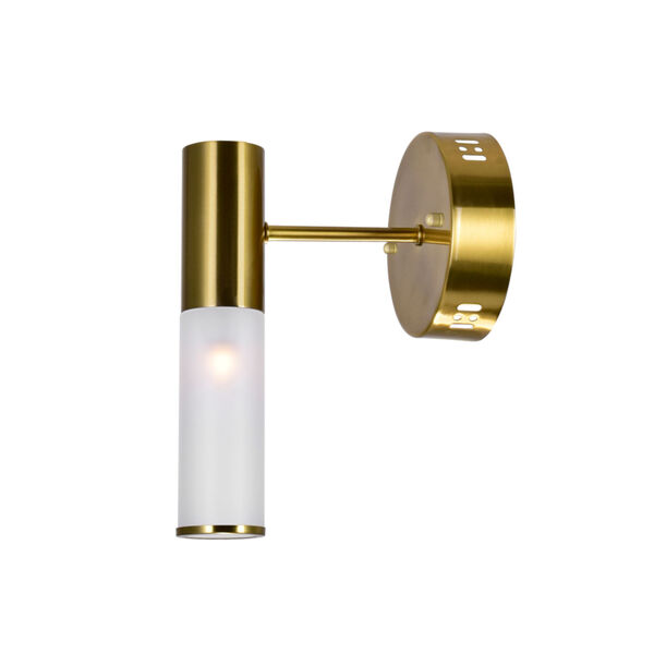 Pipes Brass LED Wall Sconce, image 3