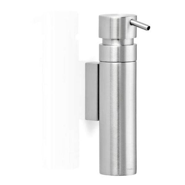Nexio Brushed Stainless Steel Wall Soap Dispenser, image 1