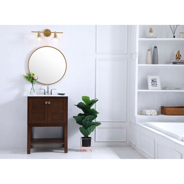 Gene Two-Light Bath Vanity, image 2
