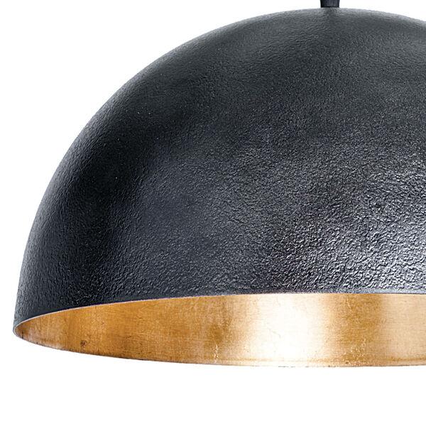 Sigmund Blackened Steel One-Light Pendant, image 6