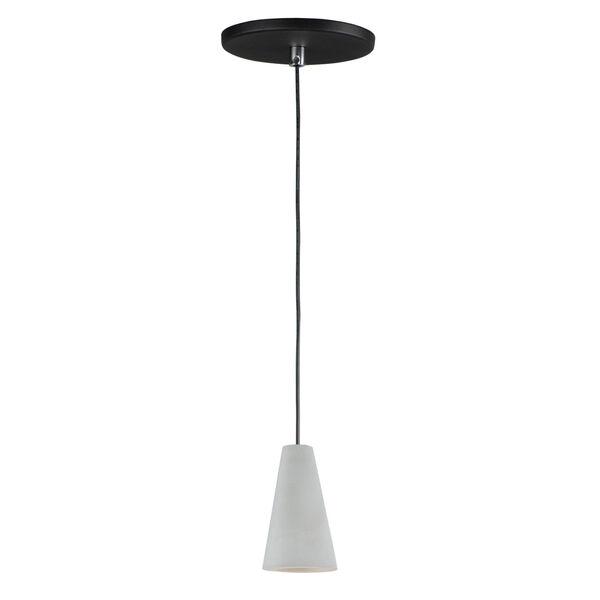 Gray One-Light LED Mini Pendant, image 1