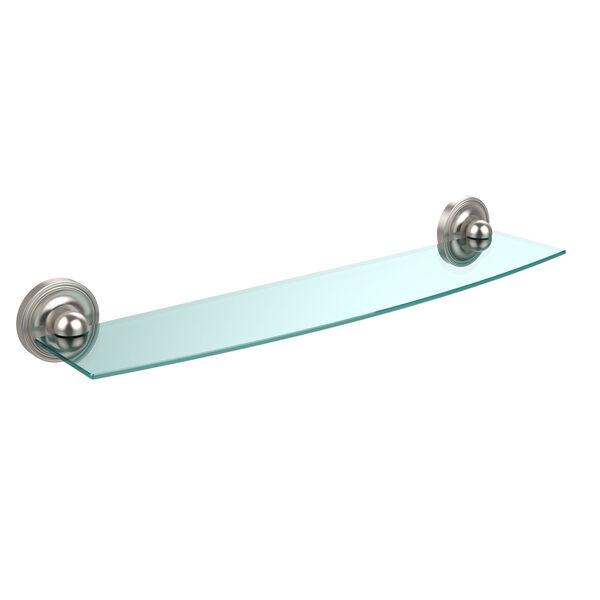 Prestige Regal Satin Nickel Single Shelf, image 1