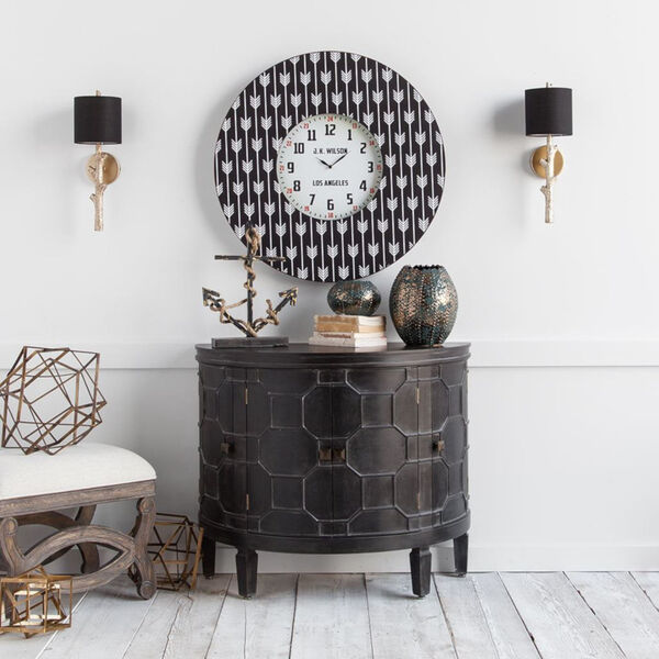 Sabinal II Black and Gold One-Light Wall Sconce, image 5