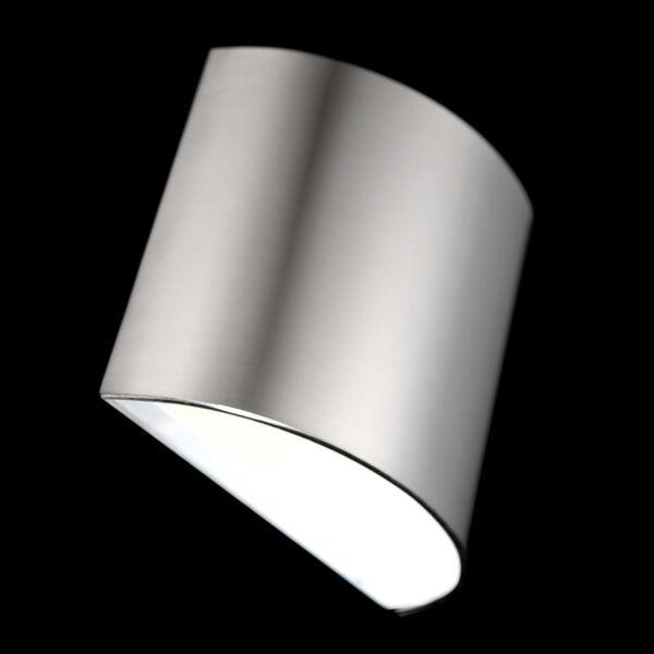 Pocket Brushed Nickel Three-Inch LED Wall Sconce, image 3