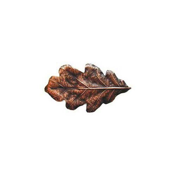 Antique Copper Oak Leaf Knob, image 1