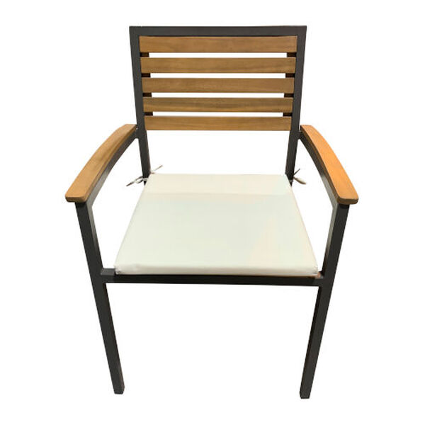 Boca Grande Outdoor Dining Arm Chair, Set of Two, image 1