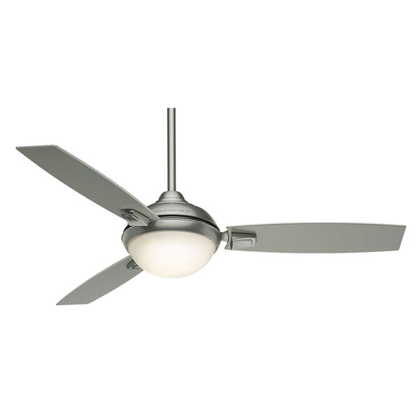 Verse Satin Nickel 54-Inch LED Energy Star Ceiling Fan, image 1