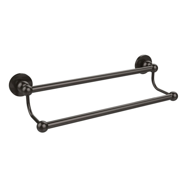 Oil Rubbed Bronze 24 Inch Double Towel Bar, image 1