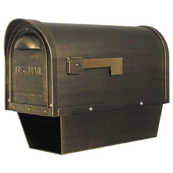 Classic Curbside Mailbox with Paper Tube, image 1