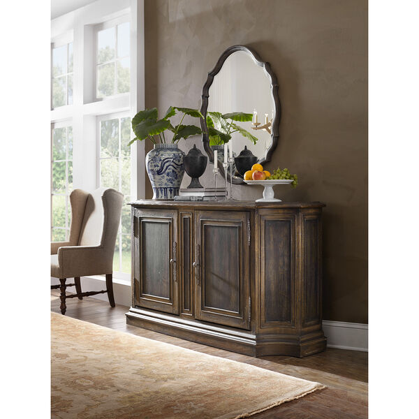 Hill Country North Cliff Brown Sideboard, image 3