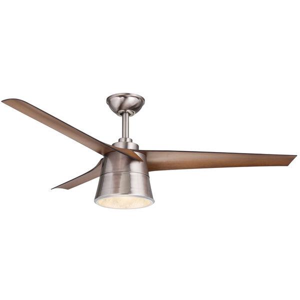 Cylon Walnut 52-Inch LED Ceiling Fan, image 1