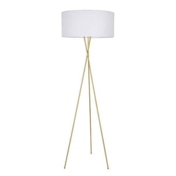 Cason Brass 66-Inch One-Light Floor Lamp, image 6