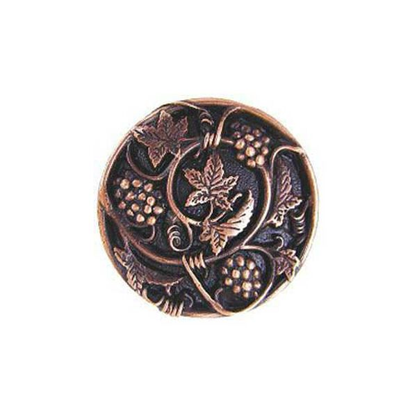 Antique Copper Grapevines Knob , image 1