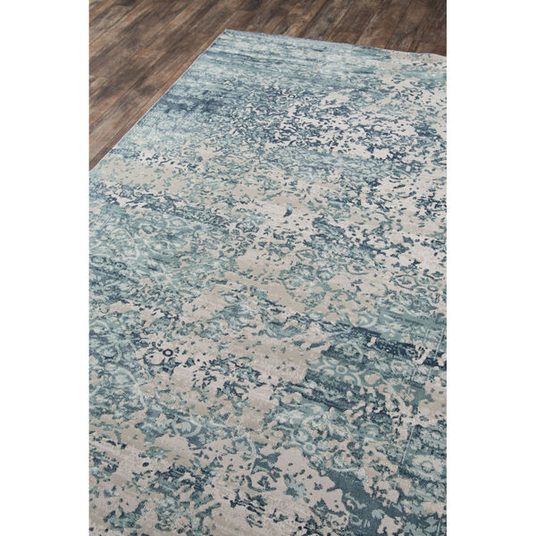Genevieve Blue Rectangular: 7 Ft. 9 In. x 9 Ft. 10 In. Rug, image 3