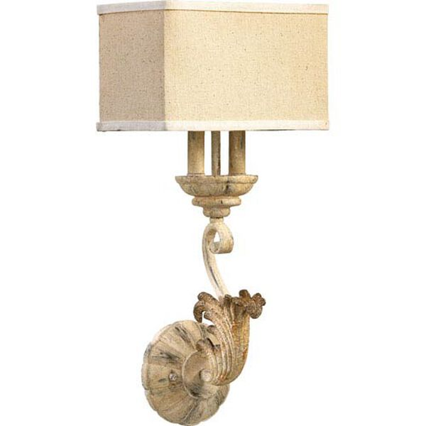 Bloomfield White 11-Inch Two-Light Wall Sconce, image 1