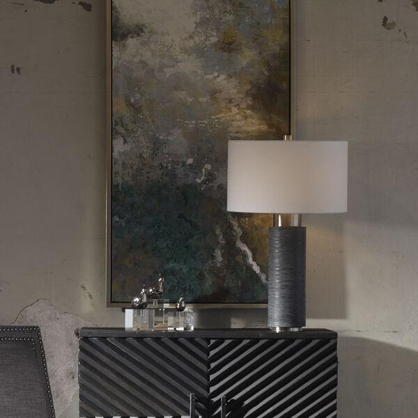 Strathmore Brushed Nickel Table Lamp, image 3