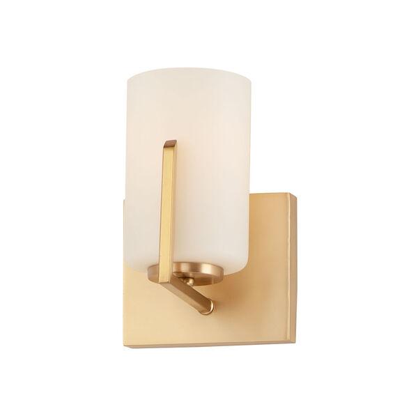 Dart Satin Brass One-Light Wall Sconce, image 1
