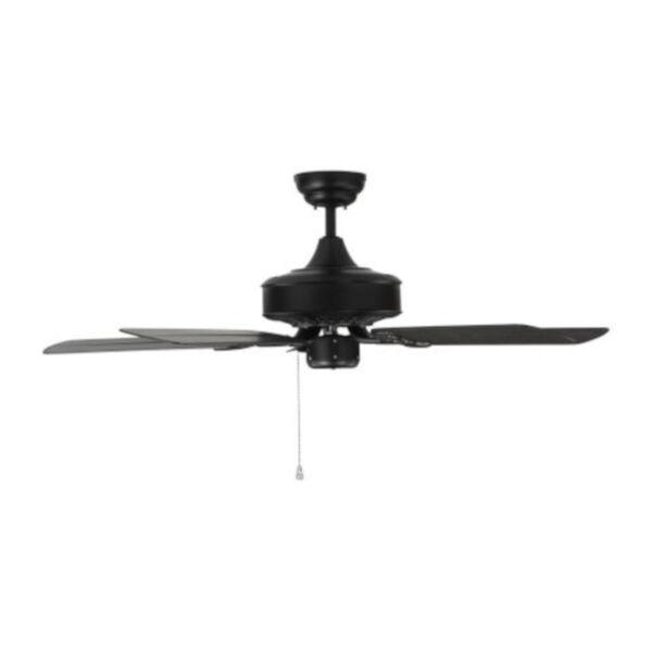 Haven Matte Black 44-Inch Outdoor Ceiling Fan, image 3