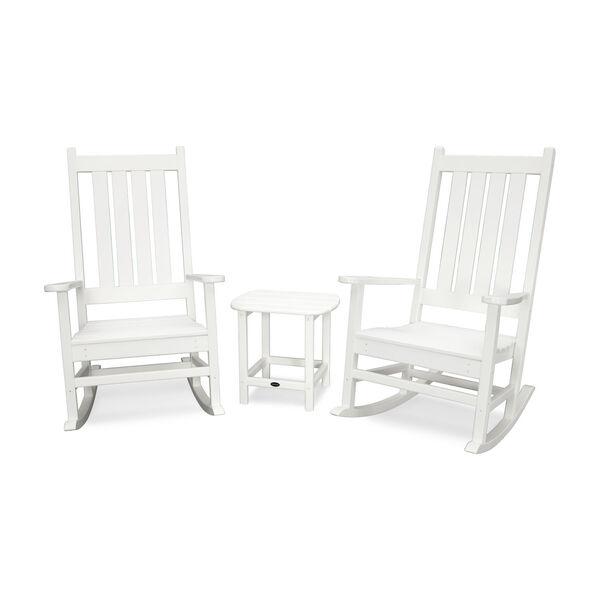 Vineyard White Rocking Set, 3-Piece, image 2
