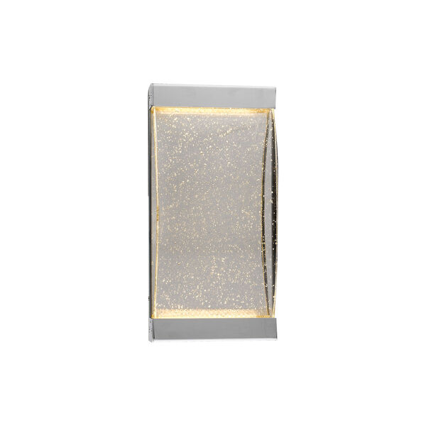 Glacier Avenue Polished Nickel 7-Inch LED Wall Sconce, image 1