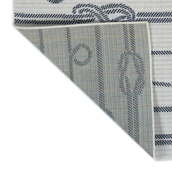 Puerto White Gray Knot Indoor/Outdoor Rug, image 3