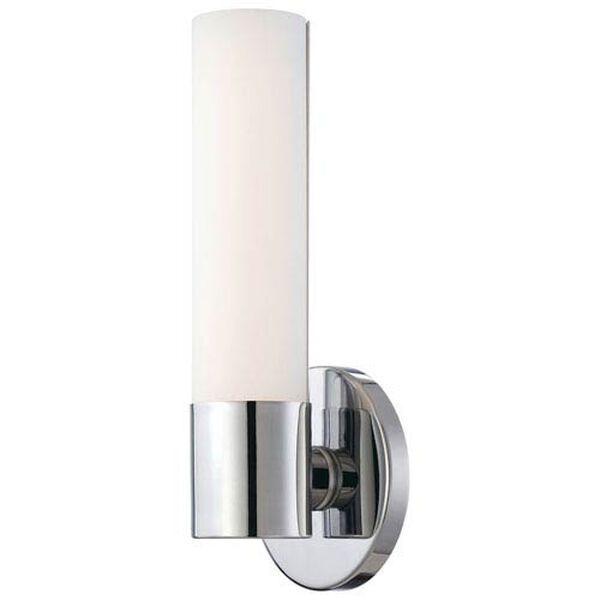 Stella Polished Chrome LED Bath Sconce, image 1